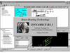 Основное окно системы для решения задач роторной динамики, Dynamics R31