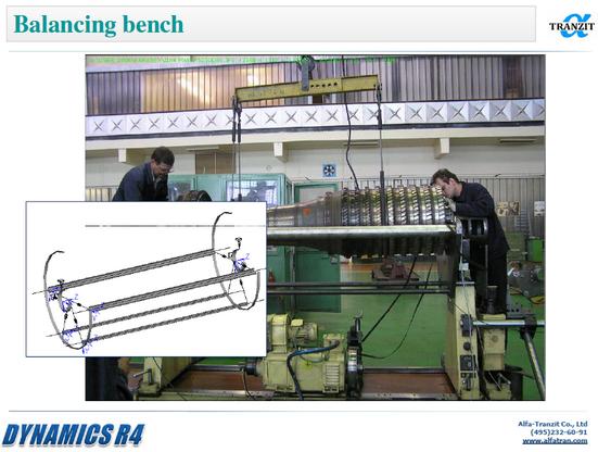 Balancing bench model